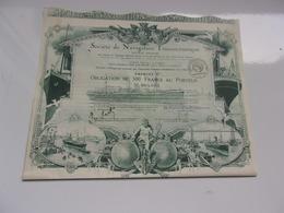 NAVIGATION TRANSOCEANIQUE (1920) - Actions & Titres
