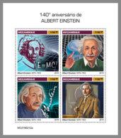 MOZAMBIQUE 2019 MNH Albert Einstein M/S - IMPERFORATED - DH1920 - Albert Einstein