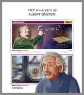 MOZAMBIQUE 2019 MNH Albert Einstein S/S - IMPERFORATED - DH1920 - Albert Einstein