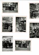 Lot De Petites Photos Voiture A Determiner 9 Sur 6 Cm - Cars
