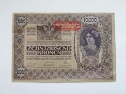 AUSTRIA 10000 KRONEN 1918 - Austria