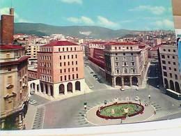 TRIESTE VEDUTA PIAzza  Oberdan   N1970  HC9575 - Trieste