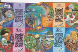 New Zealand, NZ-G-177 - 180, 1998 Holliday,  Puzzle, Set Of 4 Cards. - Neuseeland