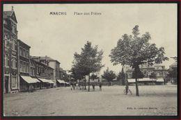 Postkaart Van MARCHE   PLACE AUX FOIRES ; Staat Zie 2 Scans ! - Marche-en-Famenne