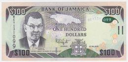 Jamaica NEW - 100 Dollars 1.6.2018 - UNC - Giamaica