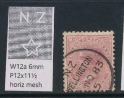 NEW ZEALAND, 1882 1d (Die I) Wmk 6a P12x11½ Fine Used, Cat £7 - Gebruikt