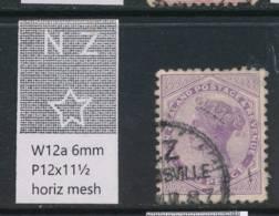 NEW ZEALAND, 1882 2d (Die II) Wmk 6a P12x11½ Fine Used, SG188d, Cat £15 - Gebruikt