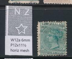 NEW ZEALAND, 1882 4d Wmk 6a P12x11½ Fine Used, Cat £11 - Gebruikt