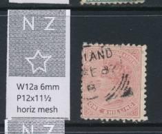 NEW ZEALAND, 1882 1/- Wmk 6a P12x11½ Fine Used, Cat £16 - Gebruikt