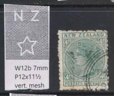 NEW ZEALAND, 1888 4d Wmk 6b P12x11½ Fine Used - Gebruikt