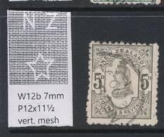 NEW ZEALAND, 1888 5d Wmk 6b P12x11½ Fine Used, Cat £18 - Gebruikt