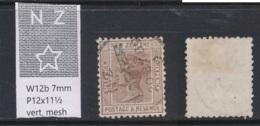 NEW ZEALAND, 1888 6d Wmk 6b P12x11½ Fine Used - Gebruikt