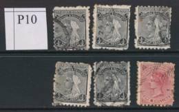 NEW ZEALAND, 1891 To 1/- (all P10) #6, Cat £27 - Gebruikt