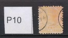 NEW ZEALAND, 1891 3d Pale Orange-yellow (P10) Fine Used, Cat £19 - Gebruikt