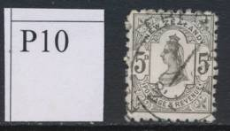 NEW ZEALAND, 1891 5d (P10) Fine Used, Cat £30 - Gebruikt