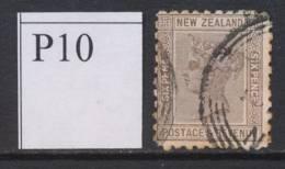 NEW ZEALAND, 1891 6d (P10) Fine Used, Cat £9 - Gebruikt