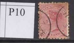 NEW ZEALAND, 1891 1/- (P10) Fine Used, Cat £16 - Gebruikt