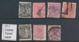 NEW ZEALAND, 1895 To 2d (P11) (normal And Coarse Paper), Cat £20 - Gebruikt