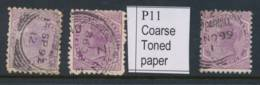 NEW ZEALAND, 1895 2d (P11) (normal And Coarse Paper) Fine Used, SG238, 238b - Gebruikt