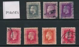 NEW ZEALAND, 1915 To 1/- + 6d Official (all P14x14½) - Gebruikt