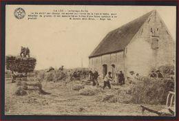 """Postkaart Van LA LYS """" Le Battage Du Lin"""" édit E.Dessaix  ; Staat Zie 2 Scans ! - Menen"""