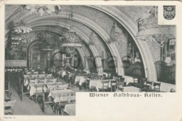 Austria - Wien - Wiener Rathhaus Keller - Werbung - Advertising