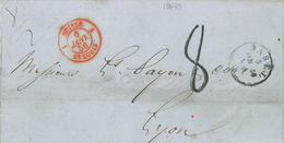 1856 Basel Nach Lyon - Suisse St. Louis - Switzerland