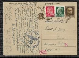 DA GARDONE A MUELHEIM - 22.4.1941. - 1900-44 Vittorio Emanuele III