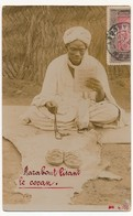 CPA Photo - Cotonou (Dahomey) - Marabout Lisant Le Coran - Dahomey