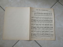 For Me Formidable (Musique Chales Aznavour)(Paroles Jacques Plate)- Partition 1963 - Liederbücher