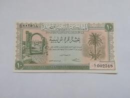 LIBIA 10 PIASTRES 1951 - Libia