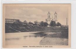 Kaunas. Karmélitu Baznycia Is Uosto Pusés. - Lituanie