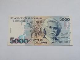 BRASILE 5000 CRUZEIROS - Brasile