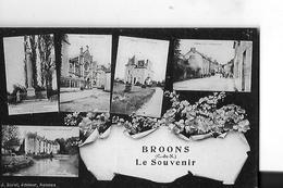 BROONS  FANTAISIE  5 VUES    LE SOUVENIR DE ...  DEPT 22 - France