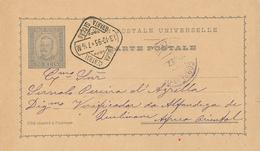 Lissabon Lisboa Central Ganzsache Nach Ostafrika 1895 - Lettres & Documents