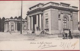 Mechelen Malines La Porte D' Egmont Egmontpoort Met Kommiezenhuizen KARDINAAL MERCIERPLEIN  (Zeer Goede Staat) - Malines
