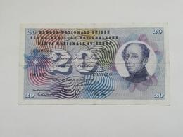 SVIZZERA 20 FRANCHI 1969 - Svizzera