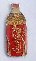 N283 Pin's Boisson COKE COCA COLA Bouteille Haut 24 Mm    Achat Immediat - Coca-Cola