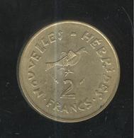2 Francs Nouvelles Hébrides 1975 ( Ex Colonie Franco-Britannique ) - Otros – Asia