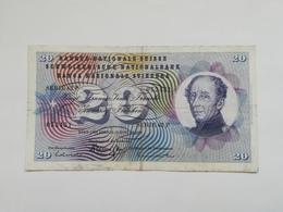 SVIZZERA 20 FRANCHI 1969 - Suisse