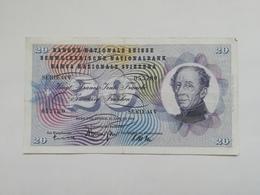 SVIZZERA 20 FRANCHI 1965 - Svizzera
