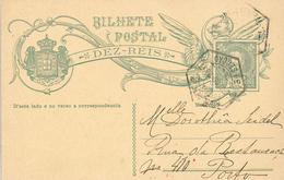Porto Central Ortskarte Ganzsache - Lettres & Documents
