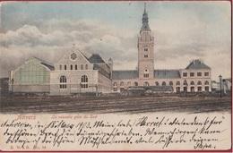 Antwerpen Anvers ACHTERZIJDE La Nouvelle Gare Du Sud Nieuw Zuidstation Station Zuid ZELDZAAM Ingekleurd 1903 - Antwerpen