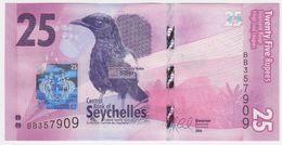 Seychelles P 48 - 25 Rupees 2016 - UNC - Seychelles