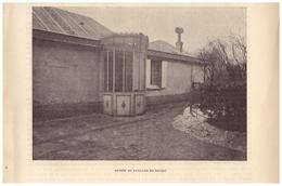 1900 - Iconographie - Paris (16ème) - Entrée Du Pavillon De Balzac Au 47 Rue Raynouard - FRANCO DE PORT - Stiche & Gravuren