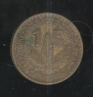 1 Franc Cameroun 1925 - Mandat Français TTB - Syria