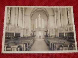OLLIGNIES - Pensionnat Des Dames Bernardines D' Esquermes - L'Eglise - Lessines