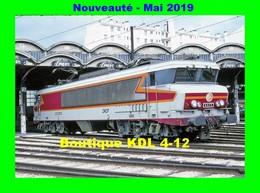 AL 578 - Loco CC 6573 Au Dépôt - PARIS CHAROLAIS - SNCF - Stations, Underground
