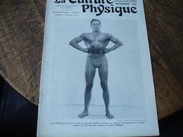 1938 La Culture Physique E Revue Culturisme Homme Pitet La Baule Concours - Livres, BD, Revues