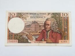FRANCIA 10 FRANCS 1967 - 1962-1997 ''Francs''